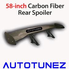 "58"" Carbon Fiber Universal GT Wing Rear Spoiler Racing Track 3D Type B Autotunez"