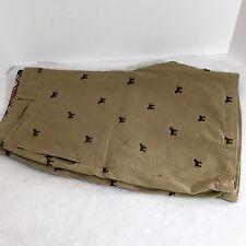 Mens Shorts Bass Golden Retriever embroidery 2X