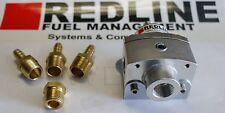 Weber Redline Billet Aluminum Universal Fuel Pressure Regulator 0.8 to 7.5 PSI