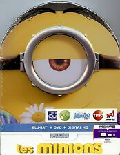 Minions Limited Edition MetalPak (Like SteelBook); Region Free/2 France Import