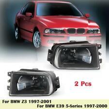 Fog Lights Lamp Bulb For BMW E39 5Series 1997-2000 Clear Glass Lens 528i 540i Z3