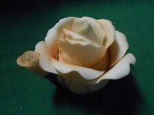 Beautiful Collectible MUSICAL   Light PINK Rose TEA POT Figure..2 Pieces...
