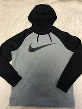Nike Dri- Fit Black/ Gray Hoodie Mens Xl Tall
