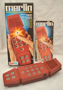 Vintage Palitoy Merlin Electronic Handheld Game 1979 - Complete Boxed instructio