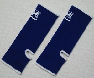 Economy ANKLE SUPPORTS WRAP GUARD PROTECTOR TRAINING MUAY THAI KICK BOXING GEAR