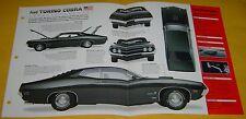 1970 1971 Ford Torino Cobra 429 ci 370 hp IMP Info/Specs/photo 15x9