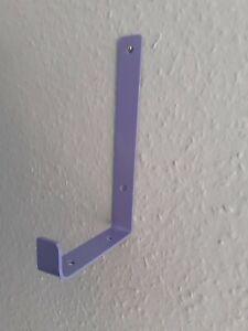 6 Handmade Steel Shelf /Scaffold Board Brackets Industrial Heavy Duty NEW-PURPLE