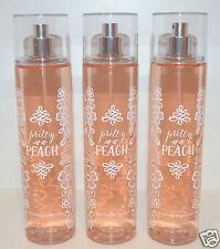 Ensemble de 3 Bath & Body Works Pretty comme un Pêche Fin parfum Brume Spray