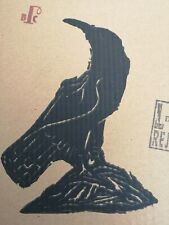 Billy Childish Jackdaw limited edition screen print nod 3/10 stamped low edition
