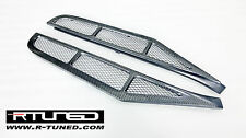 Ferrari 458 Italia F458 Carbon Fiber Rear Window Louvers Coupe