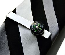 Compass Tie Clip - Tie Bar - Tie Clasp - Business Gift - Handmade - Gift Box
