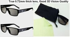 New VIZIO XPG202 Passive Theater 3D GLASSES 2 Pair Compatible with all Passive