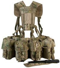 Multicam Kombat Airborne Webbing Load Carrying Belt and Yoke