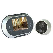 Spioncino digitale registrazione video campanello con monitor colori telecamera