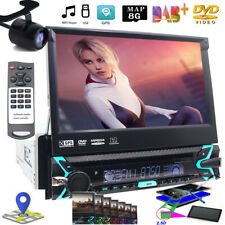 Sony Lens DVD Player 7Inch Touchscreen Single Din GPS Bluetooth Car Radio Stereo