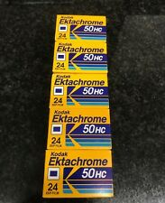 5x Kodak Ektachrome 50HC 35 film Slide Expired Fuji Agfa Perutz Ilford rare