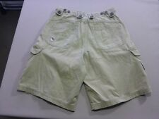 037 BOYS EX-COND RIP CURL LIGHT OLIVE CARGO SHORTS 16 $70 RRP.