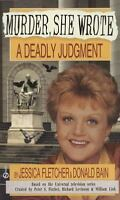 A Deadly Judgment (Murder She Wrote) by Fletcher, Jessica, Bain, Donald