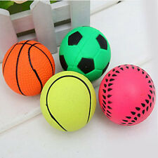 Basketball/Soccer etc Shape soft Bouncy Ball Dog Training Chewing Pet Toys
