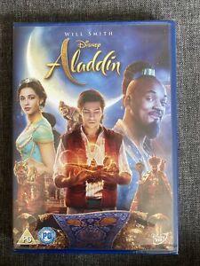 ALADDIN  Disney Live Action 2019 NEW SEALED DVD