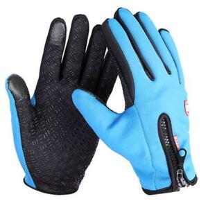 screen Winter Warm Cycling Bicycle Bike Ski Silica Waterproof Gloves GOOD
