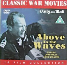 DVD Daily Mail Promo ABOVE US THE WAVES Classic War Movie John Mills & J Gregson