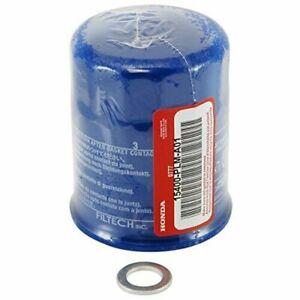 1 New Genuine Honda Oil Filter W/ Drain Plug Gasket 15400-PLM-A02