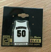 More details for robinson 50 - san antonio spurs pin badge - peter david