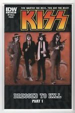 """Kiss Issue #1 """"Dressed to Kill Part One"""" (IDW Comics June 2012)"""