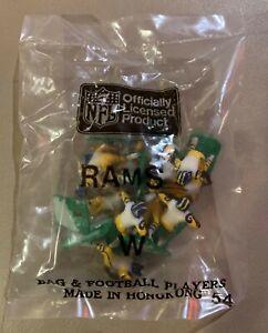 Los Angeles Rams Away Vintage Tudor Electric Football Team Mint Sealed in Bag