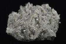 Bulgarian mineral crystal specimen - Quartz with Pyrite inclusions, Calcite
