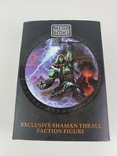 Thrall Shaman World of Warcraft - Mega Bloks - Blizzcon Exclusive - NEW