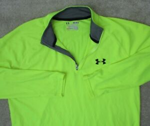 Under Armour Mens M Heat Gear Compression Fitted Loose Gym Gear Tank T Shirt