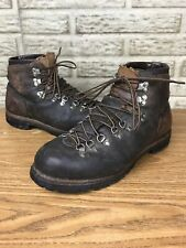 Vintage Vasque Heavy Leather Mountaineering Hiking Boots Sz 10 M