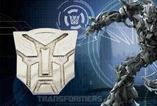 Solar LED Flash Light Transformers 3D Autobot Car Emblem Badge Decal Sticker