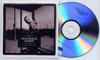 MAVERICK SABRE Album Sampler 2012 UK 5-trk promo test CD Isaac Hayes