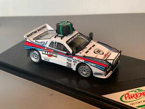 RALLY 1/43 ARENA FACTORY BUILT MARTINI LANCIA RALLYE 037 SAFARI MARKKU ALEN WRC