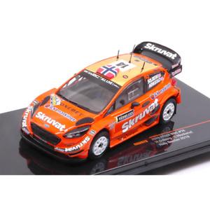FORD FIESTA WRC N.14 27th RALLY SWEDEN 2018 H.SOLBERG-C.MENKERUD 1:43 Ixo Model