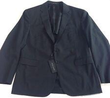 Ralph Lauren Mens Black Wool Suit Size 44 Chest St Nigel Black Label
