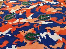 College University of Florida Gators Team Sports Fleece Fabric Print #820.