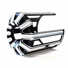 Black CNC Aluminum Oil Filter Cover Cap Trim For Harley Davidson Twin Cam Model
