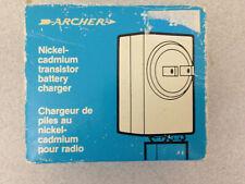 Vintage Archer Nickai-Cadmium Transistor Battery Charger