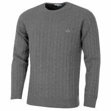 Lacoste Chunky, Cable Knit Crew Neck Jumpers & Cardigans for Men