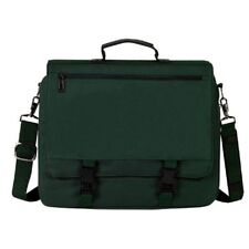 Yens Expandable Briefcase Hunter Green (No. 9311)