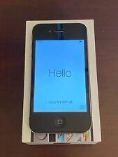 Apple iPhone 4s - 16GB - Black (AT&T) A1387 (CDMA + GSM)  No Scratches *MINT*