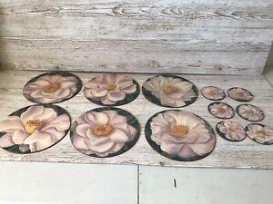 Jason Place Mats six table mats and six coastersHarmony Pattern