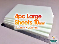 Large 4 Pc XPS Hobby Foam Sheet Set 23cm X 29cm X 10mm Wargaming 40k D&D Diorama