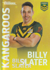 2018 NRL TRADERS WORLD CUP HERO PARALLEL - WCP20 BILLY SLATER KANGAROOS