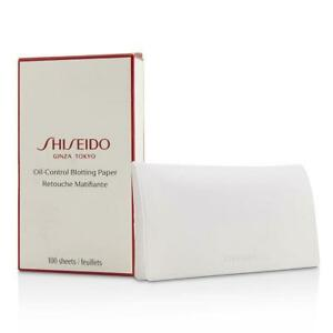 Oil-Control Blotting Paper by Shiseido for Unisex - 100 sheets New