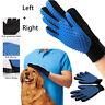 Grooming Massage Bathing Gloves Dog Cat Hair Remover Mitt Pet Deshedding Brush